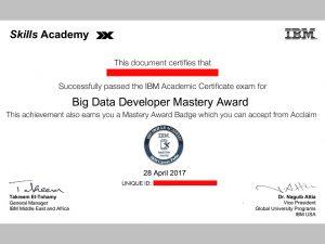 certif IBM